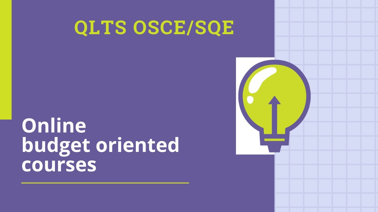 OSCE smart online courses for QLTS OSCE exam