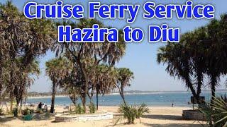 #HAZIRA_TO_DIU_CRUISE, #Diu, #Cruise