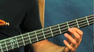 easy bass guitar song lesson the pink panther theme