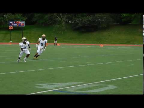 McNeil punt returnGood Counsel/Mount St. Joseph football 09/03/16