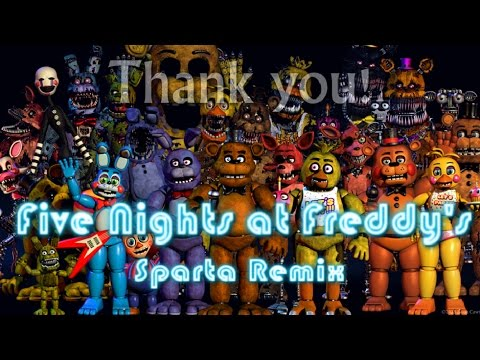 Five Nights at Freddy's - The Franchise Remix