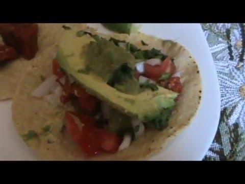 Рецепт Сальса №1 Из зелёных помидоров и агуакате