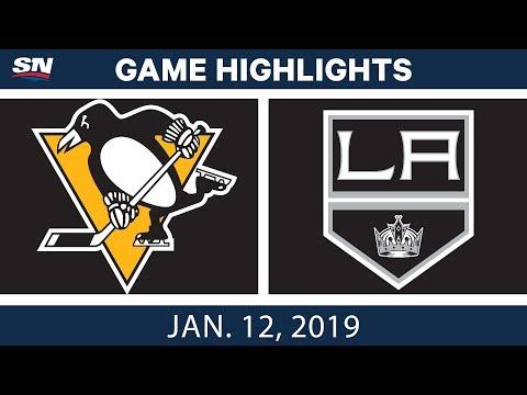 NHL Highlights   Penguins vs. Kings - Jan. 12, 2019
