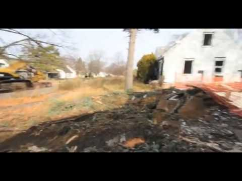 Eminem Childhood Home Demolished (19946 Dresden St)