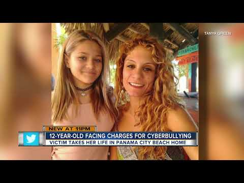 Two 12-year-old girls in Florida arrested, accused of bullying girl until she killed herself [0:19x720p]