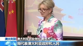 [精彩活动迎国庆] 我驻澳大利亚使馆举行国庆招待会 | CCTV