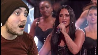 Demi Lovato - 'Sorry Not Sorry' (Live @ AMA's) Reaction