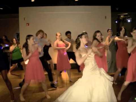 Baby Wedding Reception Flashmob Crystal And Greg Youtube