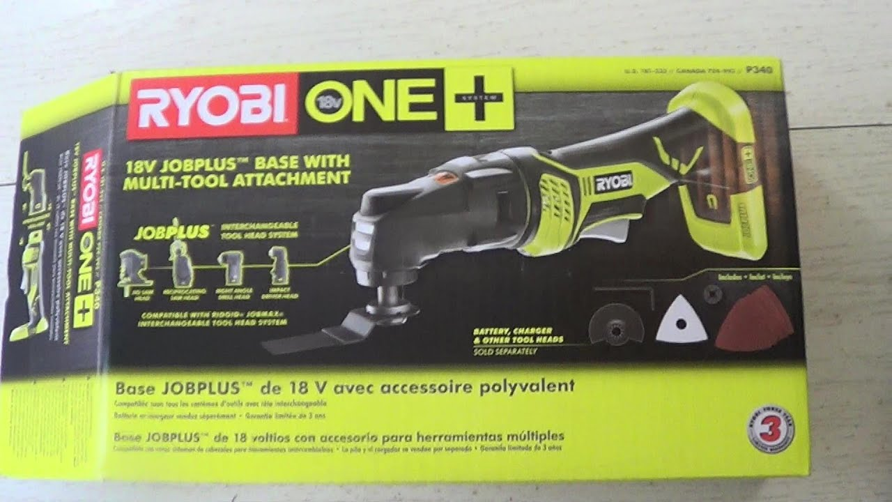 RYOBI Base With Multi-Tool Attachment Review