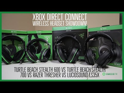 Xbox One Direct Connect Wireless Headset Showdown - Turtle Beach Stealth 600 Vs Turtle Beach Stealth