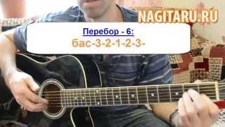 4 простых вида гитарного перебора для начинающих