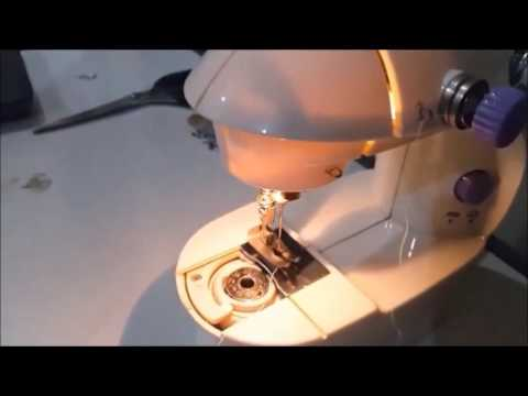 How To Use Mini Sewing Machine On Threading The Machine YouTube Simple Sew Lite Sewing Machine Review
