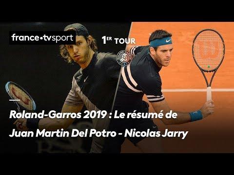 Del Potro remontó un arranque muy complicado y celebró en su debut en Roland Garros