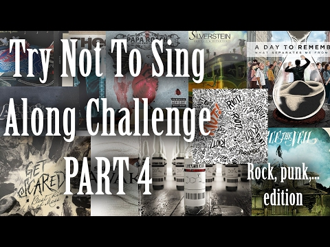 Emo Try Not To Sing Along Challenge PART 4