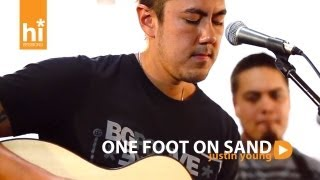 Justin Young - One Foot On Sand (HiSessions.com Acoustic Live!)