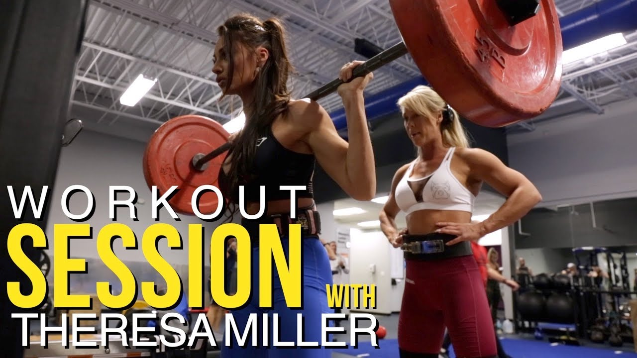 Workout Session w/ IFBB Pro Theresa Miller
