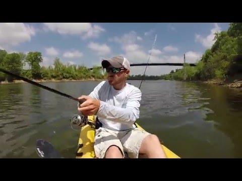 Cumberland River Kayak Fishing Trip