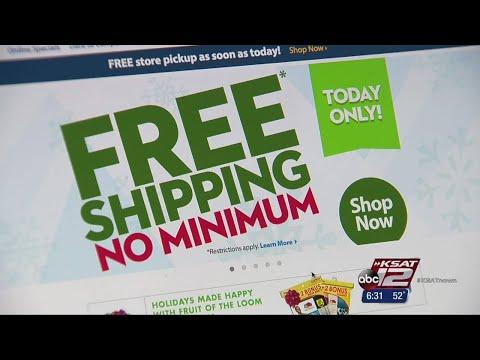 Free Shipping Day helps procrastinators