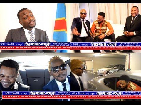 Inédit! Un Jeune Millionnaire de Monaco FRANCIS MVEMBA Veut aidé Les Congolais, Noly Tambu Émotionné