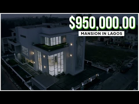Inside a $950,000 Glass Mansion in a Hidden Estate in Lagos