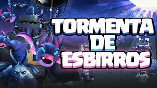TORMENTA DE ESBIRROS Y MURCIÉLAGOS | Mi mazo de la King's Cup II | Clash Royale