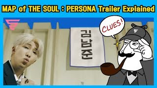 [BTS Detective] Map of the Soul : PERSONA Trailer Explained (Review) 2019 Comeback