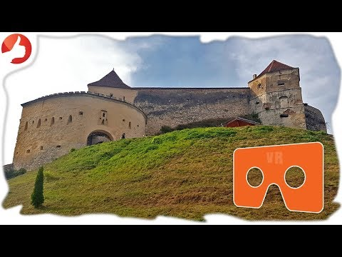 Cetatea Rasnov Fortress 4K VR 360 Romania travel