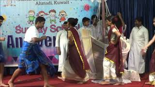 Church of God Ahmadi Kuwait Sunday School Anniversary 2019 Choreography Nadan pattu