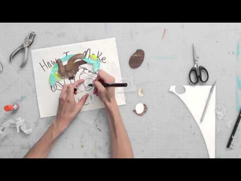 Collage Illustration Sneak Peek: The Making of Kyle