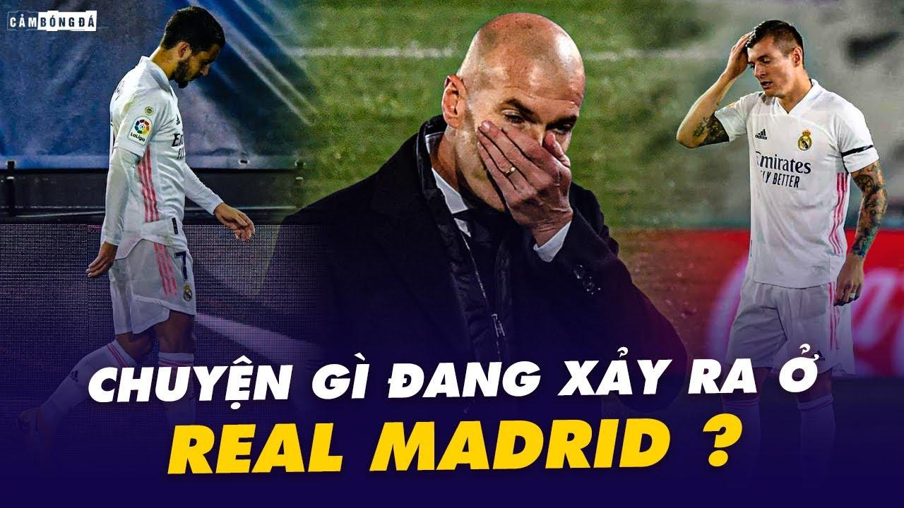 Chuyện gì đang xảy ra ở REAL MADRID?