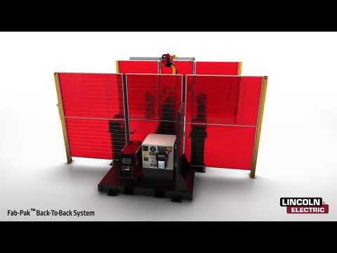 Fab-Pak FHS B2B Robotic Welding Cell