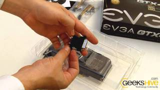 graphics card geforce gtx 460 768mb ddr5 evga 1360 tr unboxing by www geekshive com