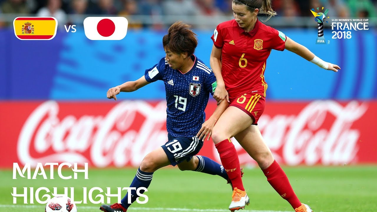 spain-v-japan-fifa-u-20-women-s-world-cup-france-2018-the-final