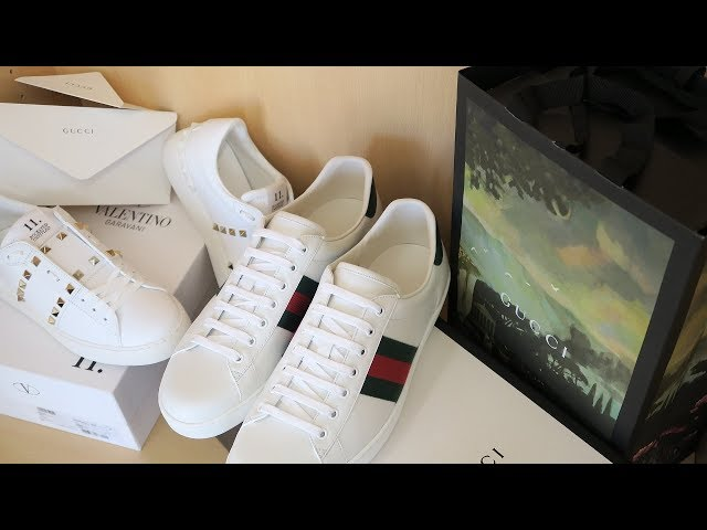 c2bd89a0521 Gucci Ace Sneakers   Valentino Rockstud Untitle... - With Loop Control -  YouTube for Musicians