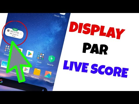 How To Pin Live Score| Watch Live Score On Mobile Screen (Google Tricks)
