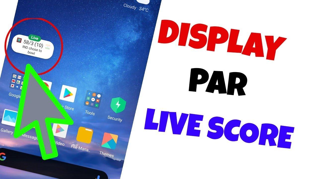 How To Pin Live Score Google   IPL 20 Live Score   Screen par live score