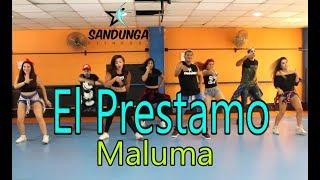El Prestamo -  Maluma - Zumba - Coreografia Sandunga