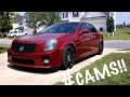 Mean cammed LS2 Cadillac CTS-V at my work.