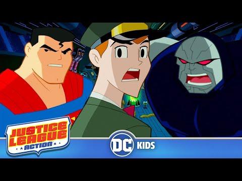 Justice League Action em Português  Space Cabbie ao resgate  DC Kids