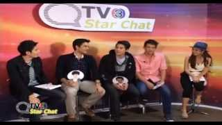 TV3 Star Chat James Chi / Bom / James Ma / Great / Pope