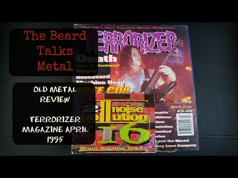 TERRORIZER ISSUE 19 APRIL 1995 REVIEW | The Beard Talks Metal