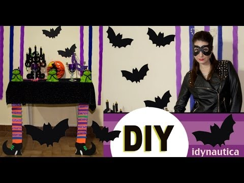 Diy faciles decoraciones a ultimo momento as como for Decoracion de halloween