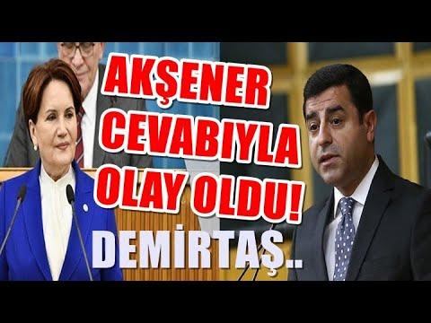 Demirtaş Kahvaltı istedi Meral Akşener ise Verdiği Cevapla Gündeme oturdu Kapıyı..