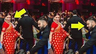 Unseen Pics Of Virat Kohli & Anushka Sharma in Delhi Reception
