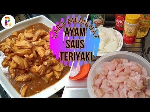 cara-membuat-ayam-saus-teriyaki