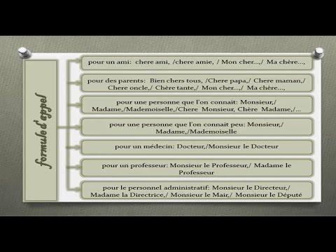 formule de politesse lettre à un médecin france, plan de la lettre (comment rédiger une formule d'appel ou  formule de politesse lettre à un médecin
