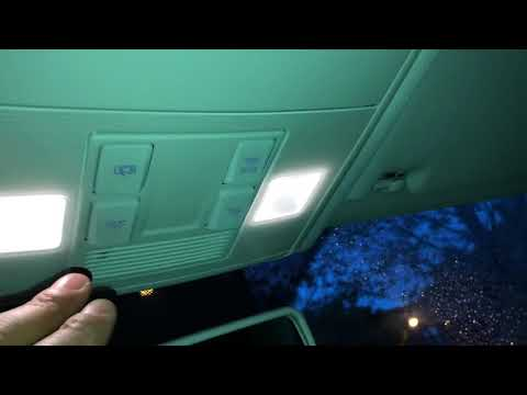 VOLKSWAGEN GOLF INTERIOR LIGHTS TURN ON/OFF - HOW TO