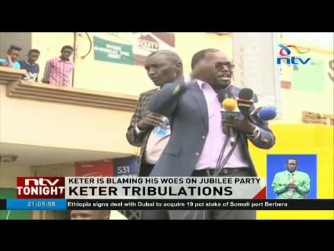 Court nullifies Nandi Hills MP Alfred Keter's win