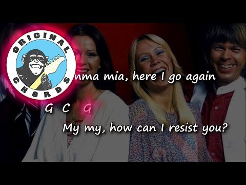 Abba - Mamma Mia - Chords & Lyrics