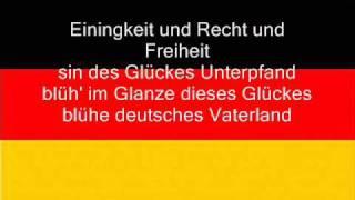 Hymne national de l'Allemagne